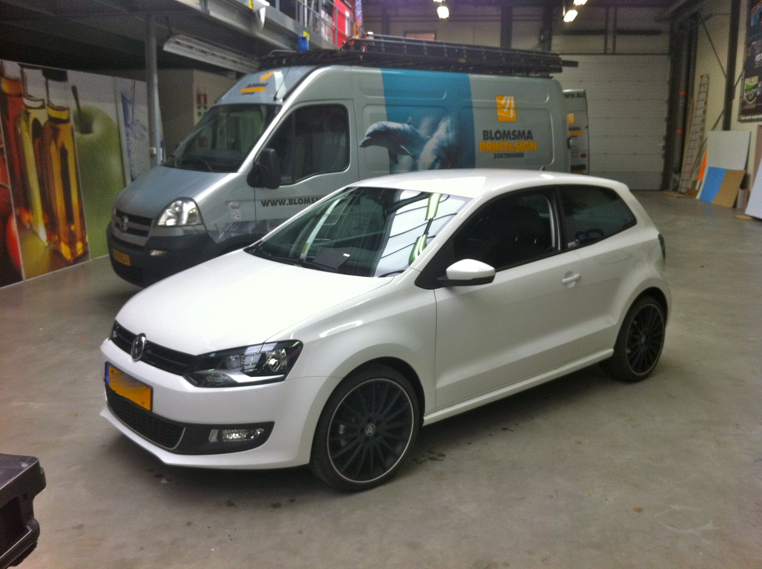 Mijn Polo Wrappen Golf Gti Forum